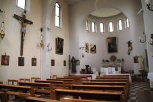 Interno attuale della Chiesa