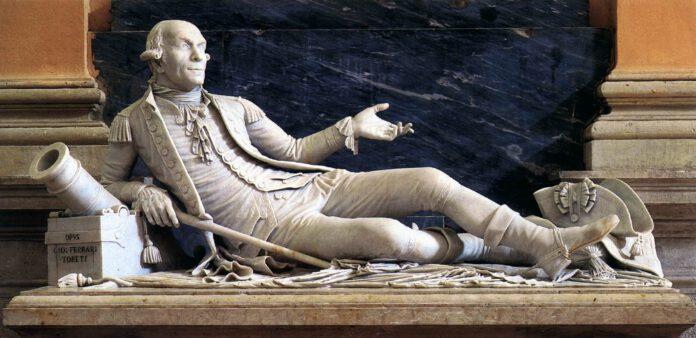 Monumento funerario Ammiraglio Angelo Emo nella Chiesa di San biagio (foto web gallery art)