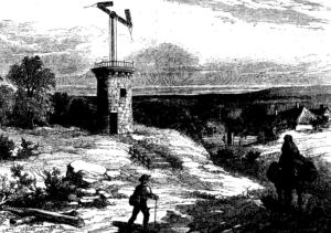 telegrafo ottico (foto tratta da Historia Regni)
