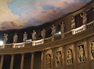 Altro particolare del Teatro Olimpico (foto autore)