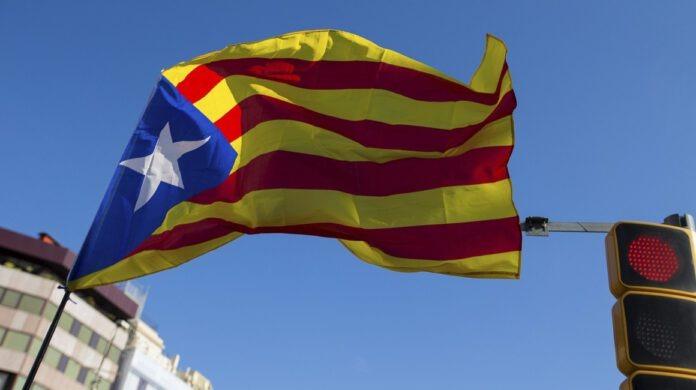 La bandiera della Catalogna indipendente