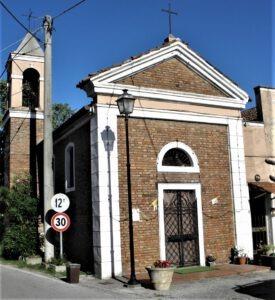 Oratorio San Marco nella cittadina di Arquà Polesine (Foto Web)