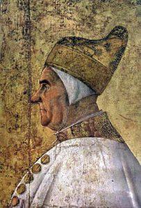 Il settantaduesimo Doge di Venezia Giovanni Mocenigo (foto Web)