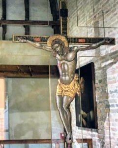 Crocefisso di Lepanto all'interno del Museo (foto web)